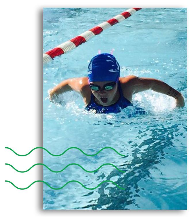 swim team button w waves